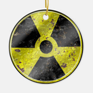 Sign of the times - fallout nuke radiation christmas ornaments