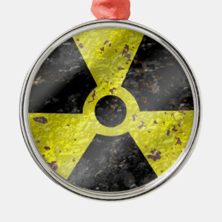 Sign of the times - fallout nuke radiation christmas tree ornament