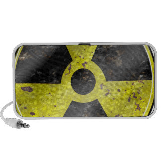 Sign of the times - fallout nuke radiation iPod speaker