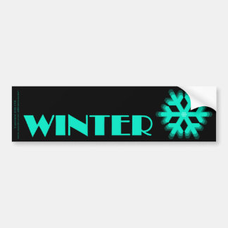 Sign of the Times Winter Bumper Stickers