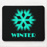 Sign of the Times Winter Mouse Pad