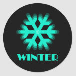 Sign of the Times Winter Sticker