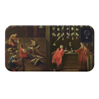 Sign of the Venetian Comb Makers' Guild (panel) iPhone 4 Cover