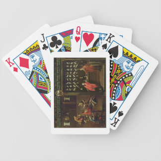 Sign of the Venetian Comb Makers' Guild (panel) Bicycle Playing Cards