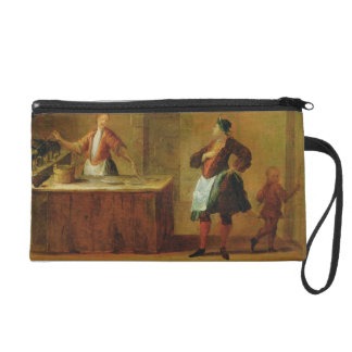 Sign of the Venetian Pastry Makers' Guild (panel) Wristlet Clutch