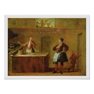 Sign of the Venetian Pastry Makers' Guild (panel) Poster