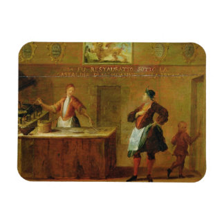 Sign of the Venetian Pastry Makers Guild panel Rectangular Magnet