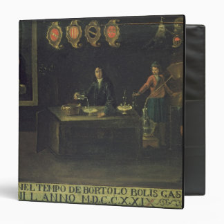 Sign of the Venetian Pharmacists' Guild, 1729 (pan Binder