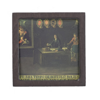 Sign of the Venetian Pharmacists' Guild, 1729 (pan Jewelry Box