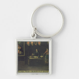 Sign of the Venetian Pharmacists' Guild, 1729 (pan Keychain