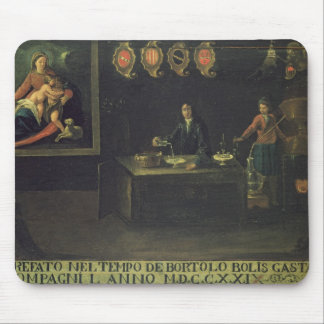 Sign of the Venetian Pharmacists' Guild, 1729 (pan Mouse Pad
