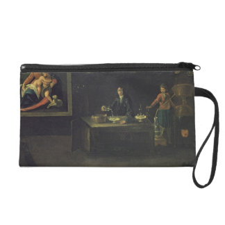 Sign of the Venetian Pharmacists' Guild, 1729 (pan Wristlet Purse