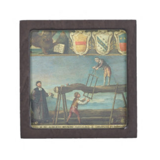 Sign of the Venetian Saw Mill Workers' Guild, 1445 Keepsake Box