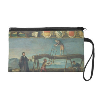 Sign of the Venetian Saw Mill Workers' Guild, 1445 Wristlet Purse