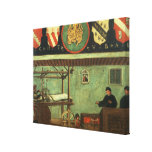 Sign of the Venetian Weavers' Guild (panel) Canvas Print