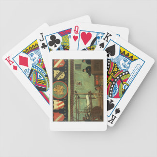 Sign of the Venetian Weavers' Guild (panel) Bicycle Playing Cards