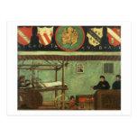 Sign of the Venetian Weavers' Guild (panel) Postcard