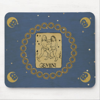 Sign Of The Zodiac Mouse pad  -  Gemini
