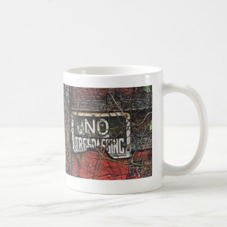 Sign On Old Red Barn Painting Mug / Cup