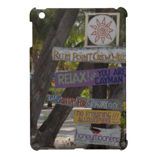 Sign post Rum Point Grand Cayman Case For The iPad Mini