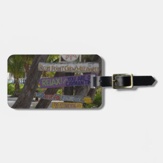 Sign post Rum Point Grand Cayman Tag For Luggage