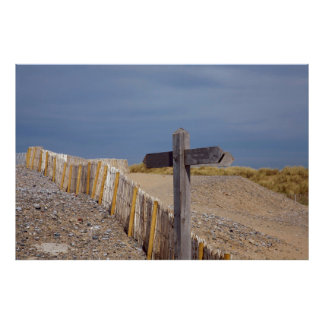 Sign post to nowhere posters