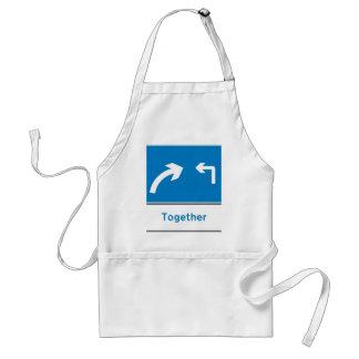 sign together apron