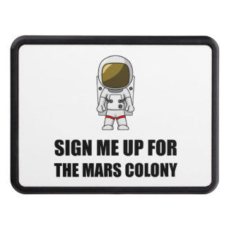 Sign Up Mars Colony Hitch Cover