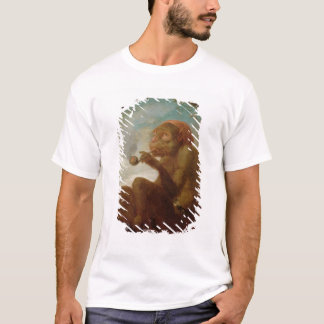 Sign with a monkey smoking a pipe T-Shirt