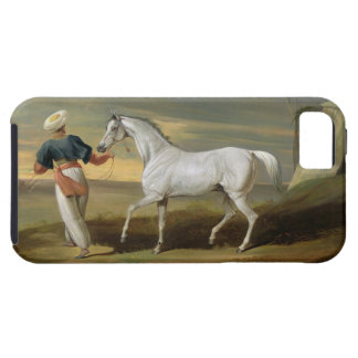Signal, a grey Arab, with a Groom in the Desert (o iPhone SE/5/5s Case