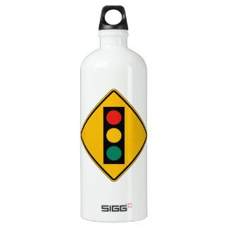 Signal Ahead, Traffic Warning Sign, USA SIGG Traveler 1.0L Water Bottle