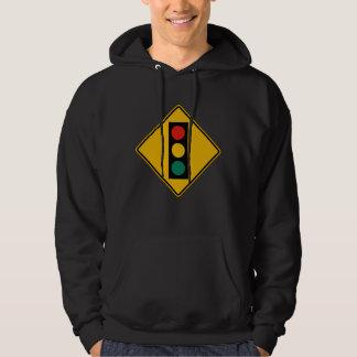 Signal Ahead, Traffic Warning Sign, USA Sweatshirts