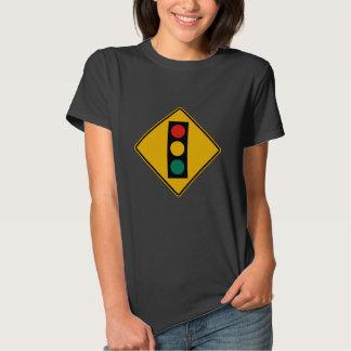 Signal Ahead, Traffic Warning Sign, USA T Shirts