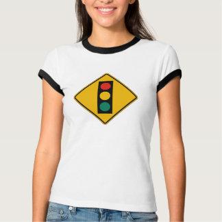 Signal Ahead, Traffic Warning Sign, USA Tshirt