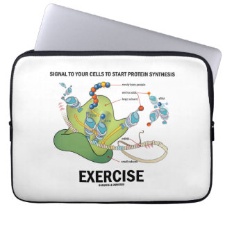 Signal Cells To Start Protein Synthesis Exercise Computer Sleeve