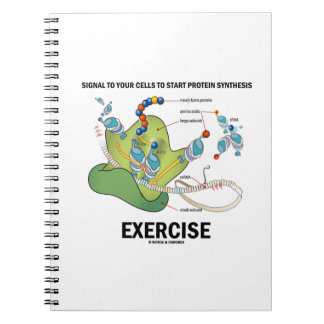 Signal Cells To Start Protein Synthesis Exercise Spiral Notebook