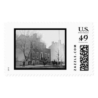 Signal Corps Headquarters in Washington, DC 1865 Stamps