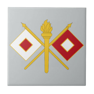 Signal Corps Insignia Tiles
