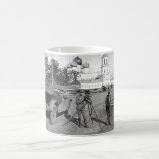Signal Corps Photographic Unit with A.E.F_War Imag Coffee Mug