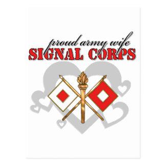 Signal Corps Postcard