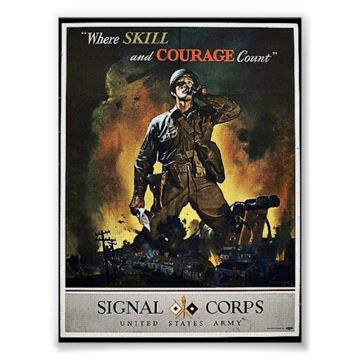 Signal Corps Poster