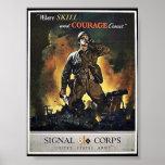 Signal Corps Print