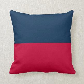 Signal flag throw pillow