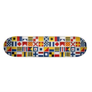 Signal Flags Skateboard Deck