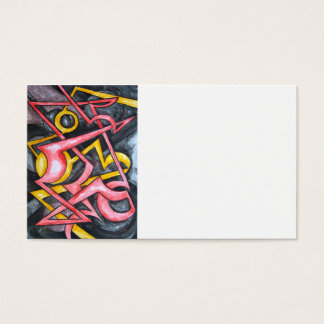 Signal From Mars - Abstract Art Business Cards