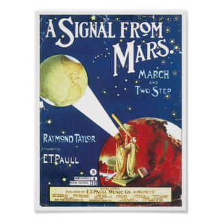 Signal From Mars Print