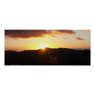 Signal Hill Sunrise Print