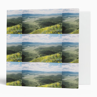 Signal Mountain Valley Wildflowers 3 Ring Binder