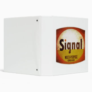 Signal Multi-Purpose Grease sign. Weathered vers. Binder