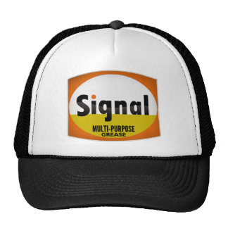 Signal Multi-Purpose Grease vintage sign crystal Trucker Hat